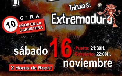 ENTRADAS-PEDRA TRIBUTO EXTREMODURO